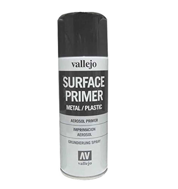 Imprimación negra para metales aerosol