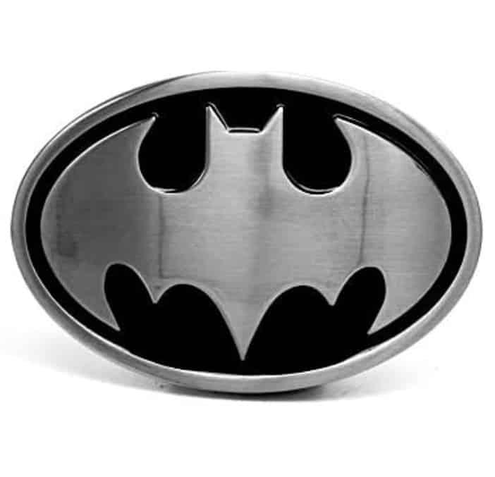 Hebilla de cinturón Oval Nickle Batman Hebilla de cinturón