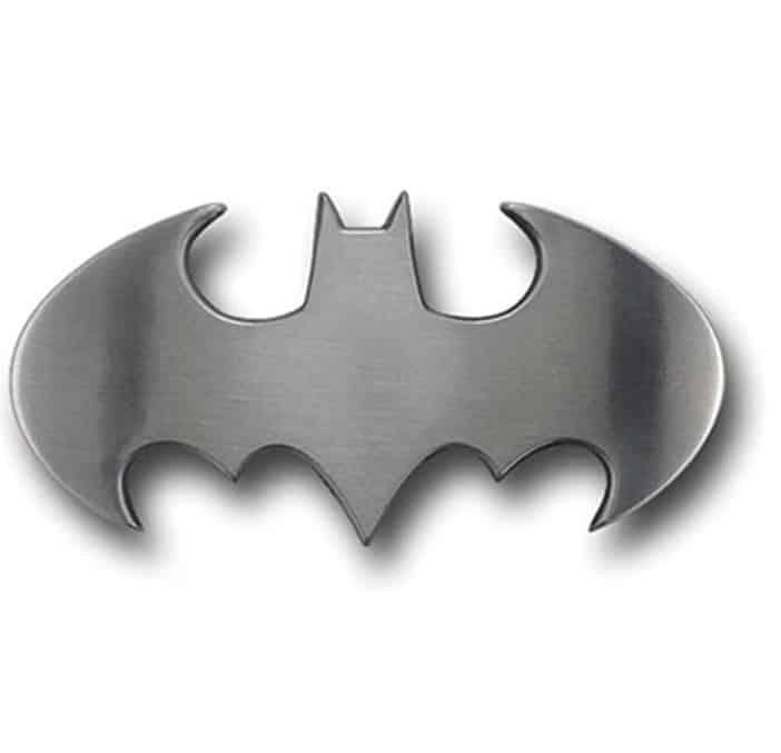 Fun Buckles Batman Hebilla de cinturón (plateado)