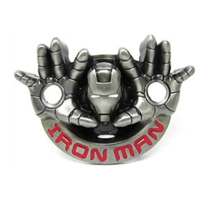 Iron Man cosplay hebilla de cinturón