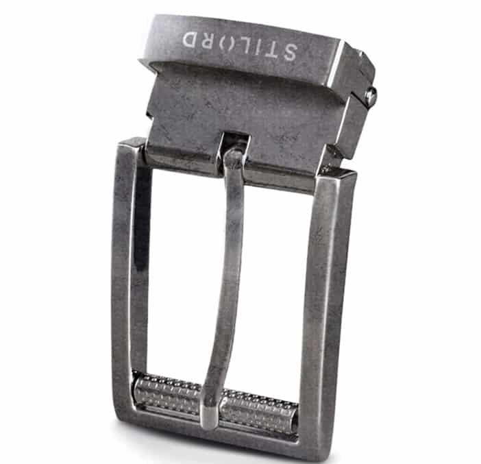 STILORD Hebilla de Cinturón Vintage Belt Buckle rueda
