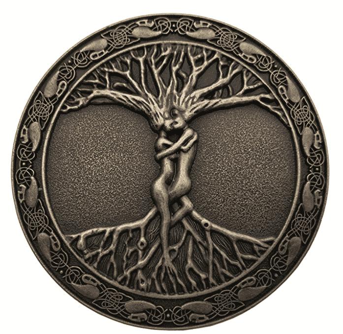 YONE Hebilla de cinturón Tree Of Life Belt Buckle
