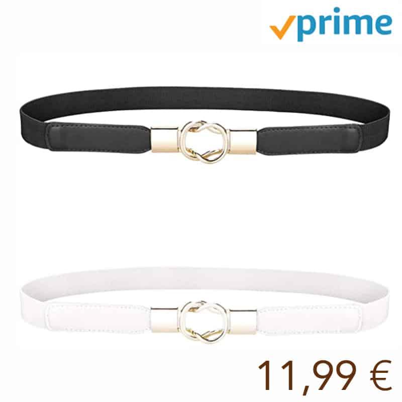 MELLIEX Cinturón de Cintura para Mujer, Cinturón Fino